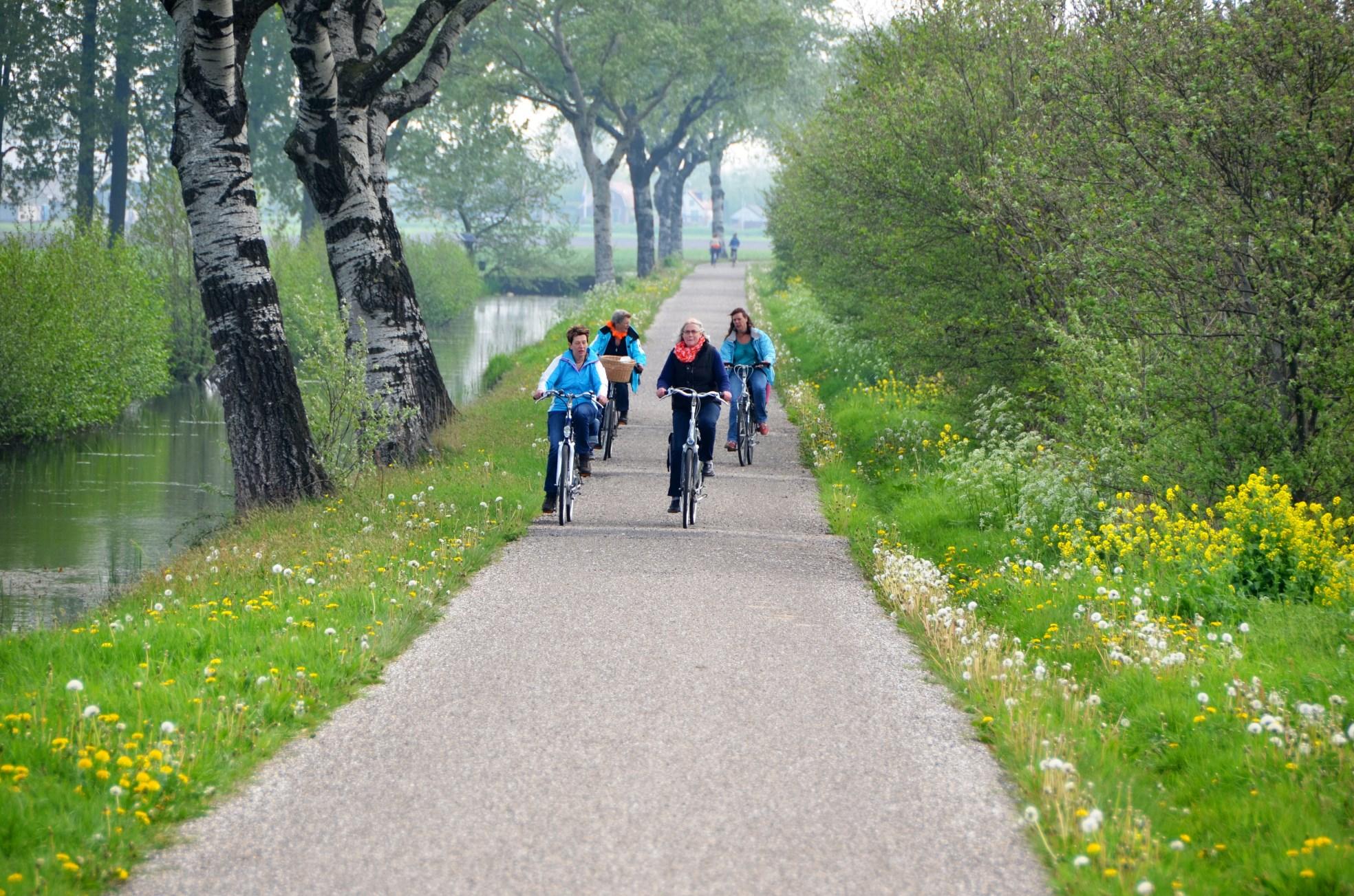Koningsdag fiets-dobbelrit