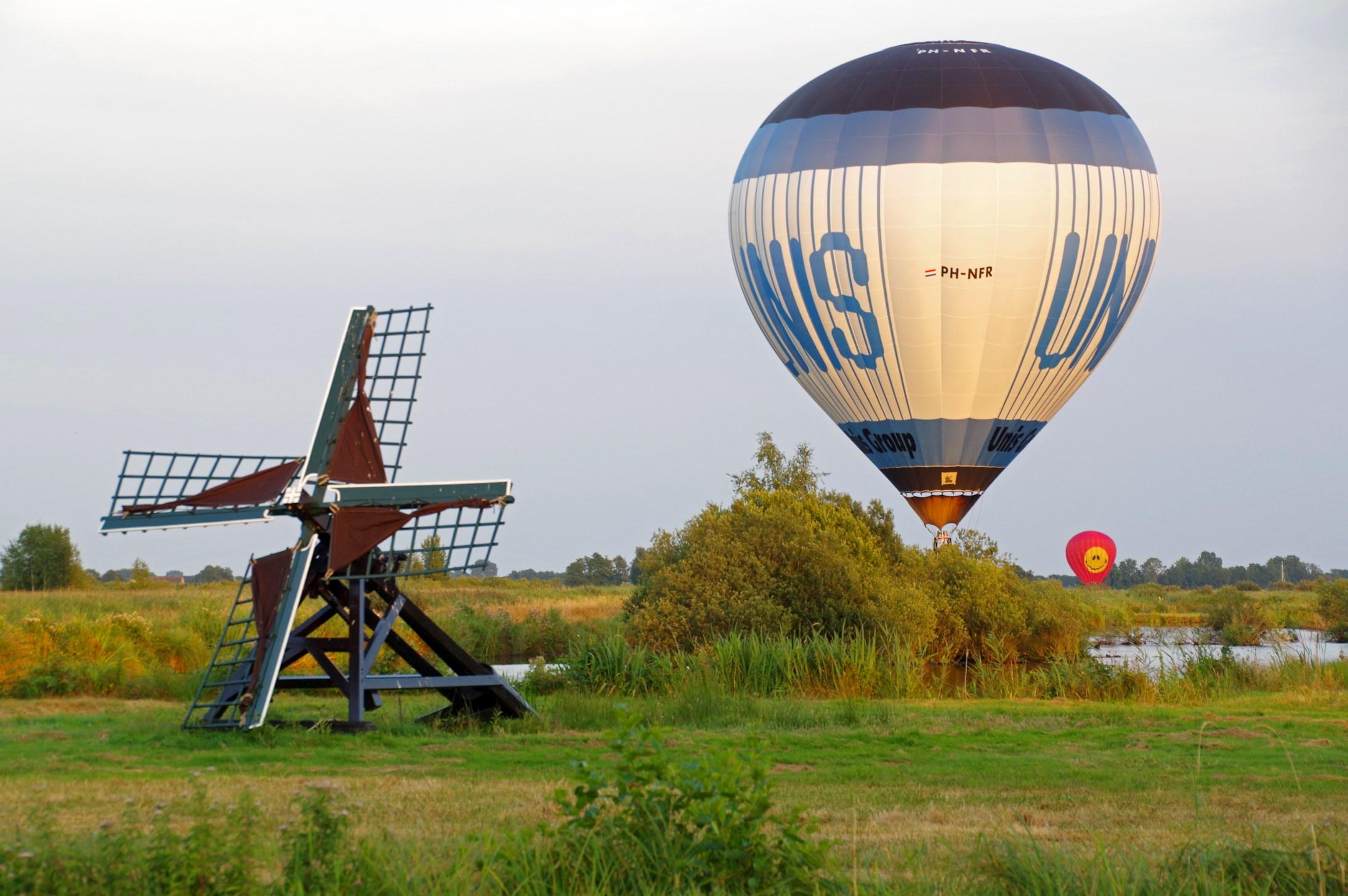 Balonnen boven Nijetrijne