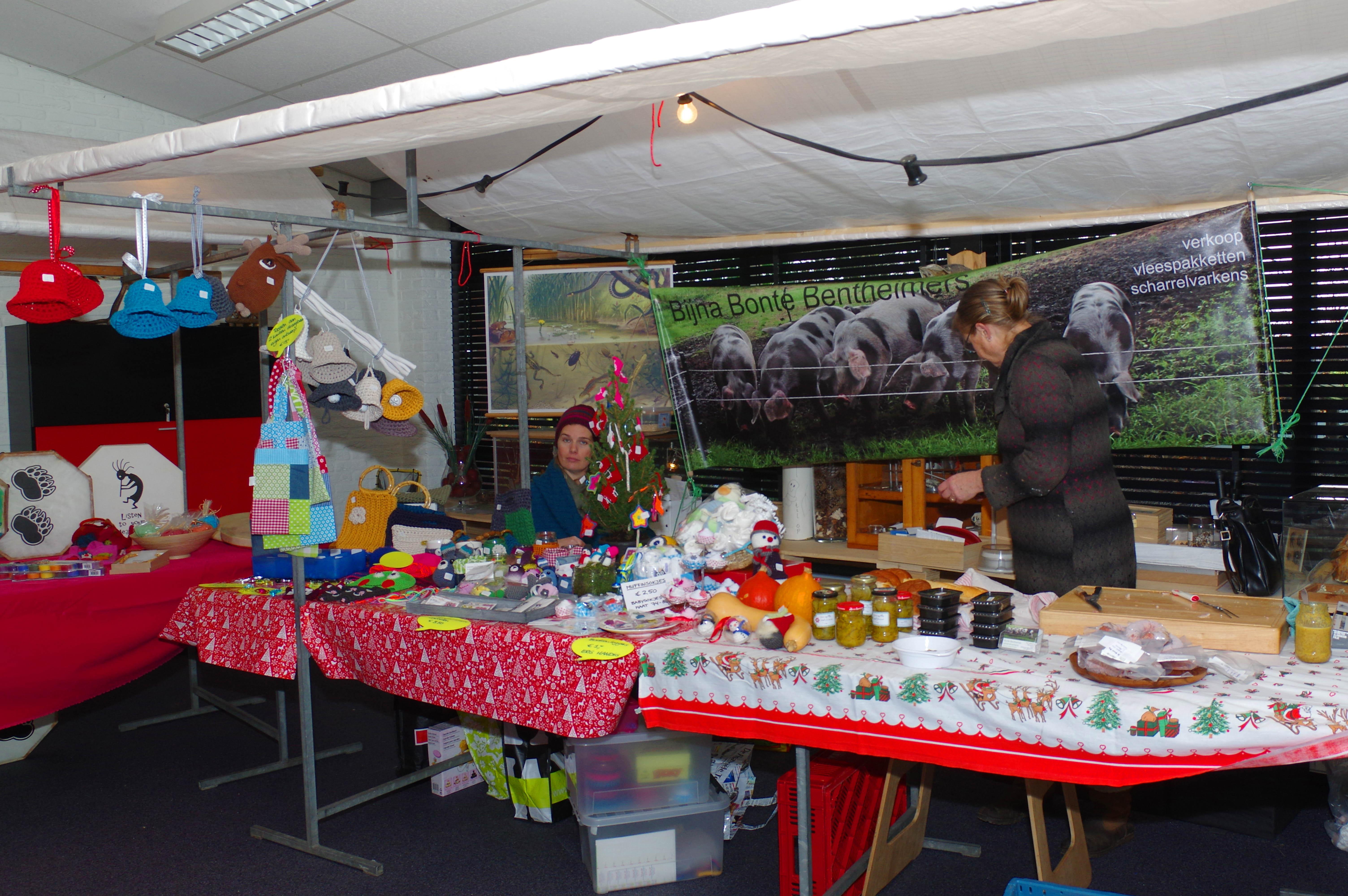 Kerstmarkt in de Rietnymf