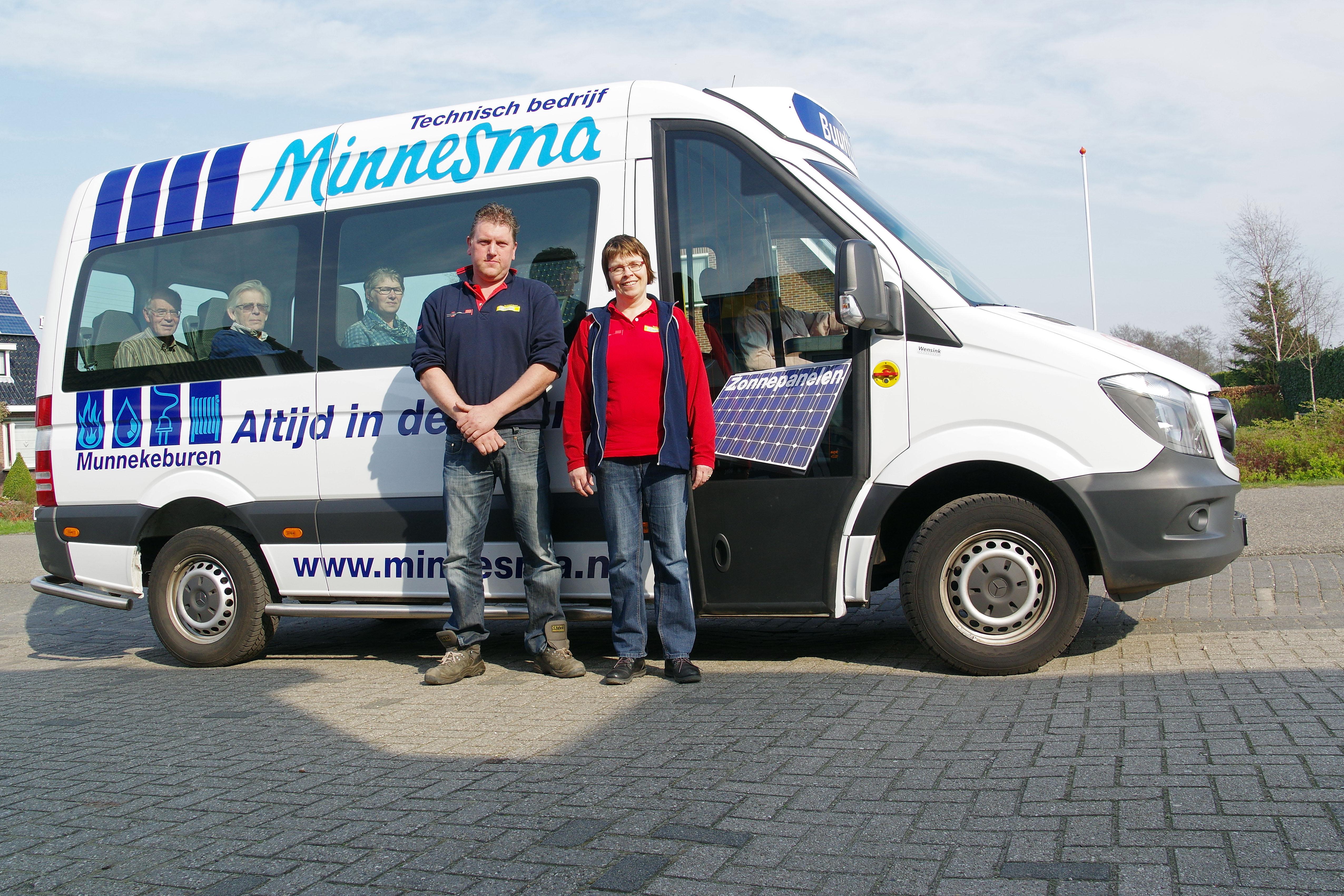 Nieuwe sponsor buurtbus