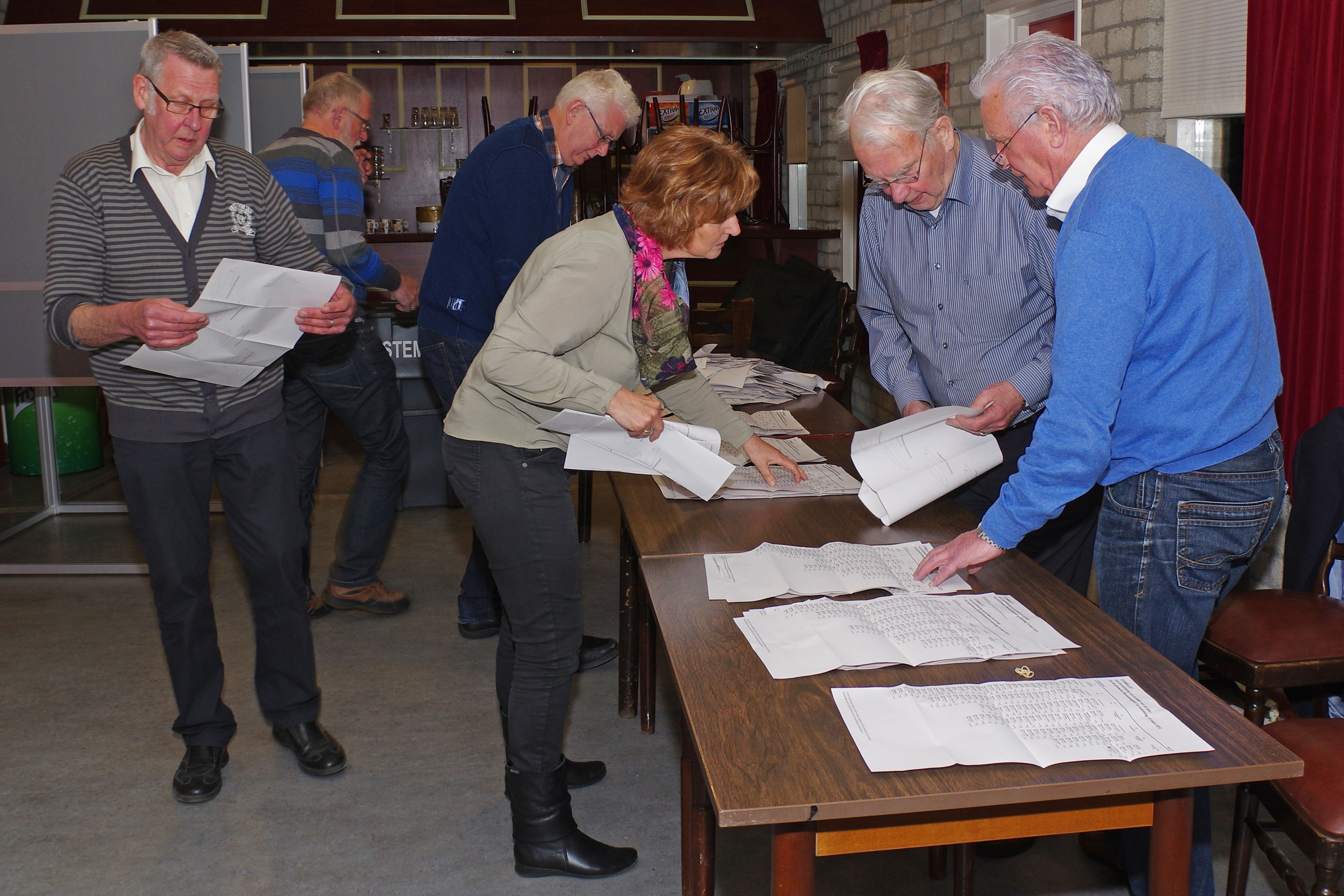 Stemmen gemeenteraad