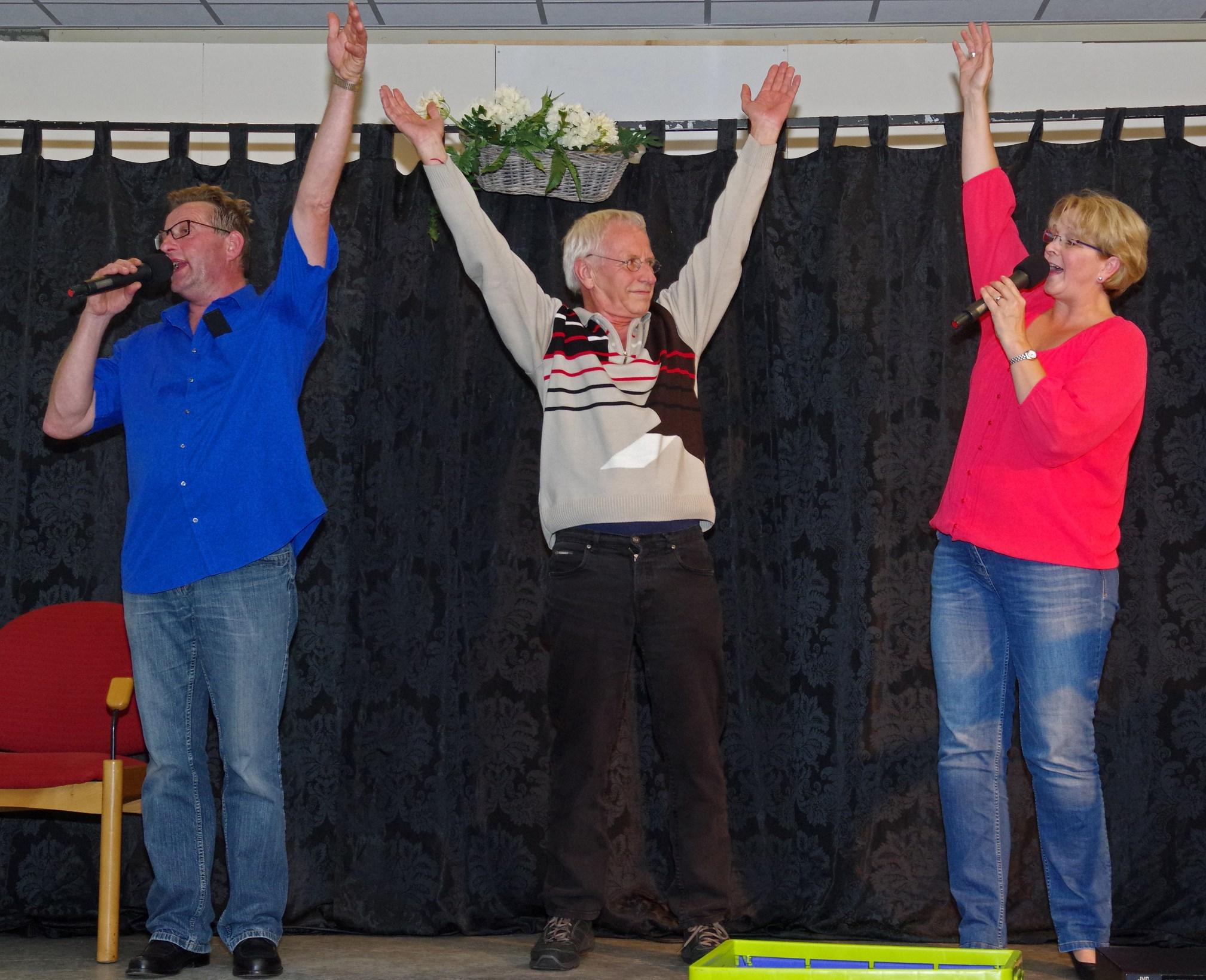 Cabaret ijsclub in Polderhuus