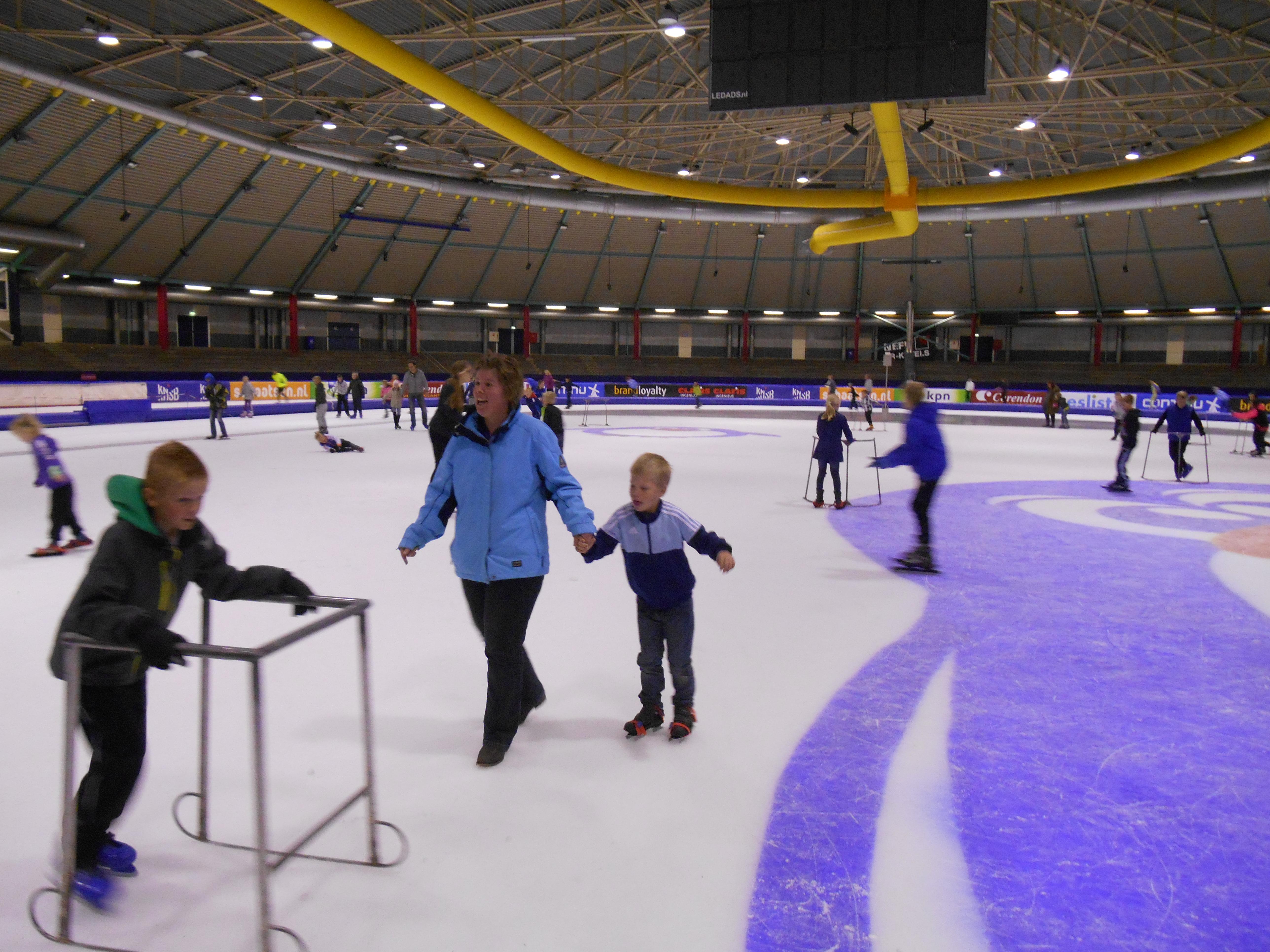 IJsclub de eendracht organiseert schaatsmiddag voor de jeugd in tialf