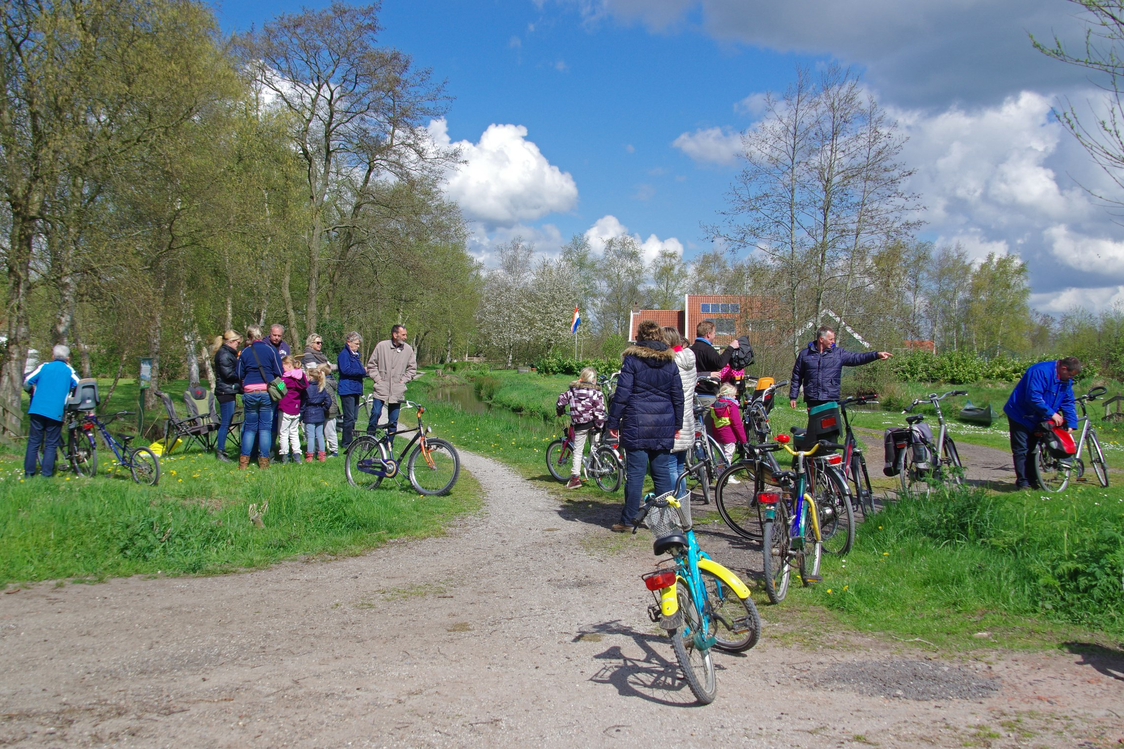 Koningsdag 2015 fietstocht