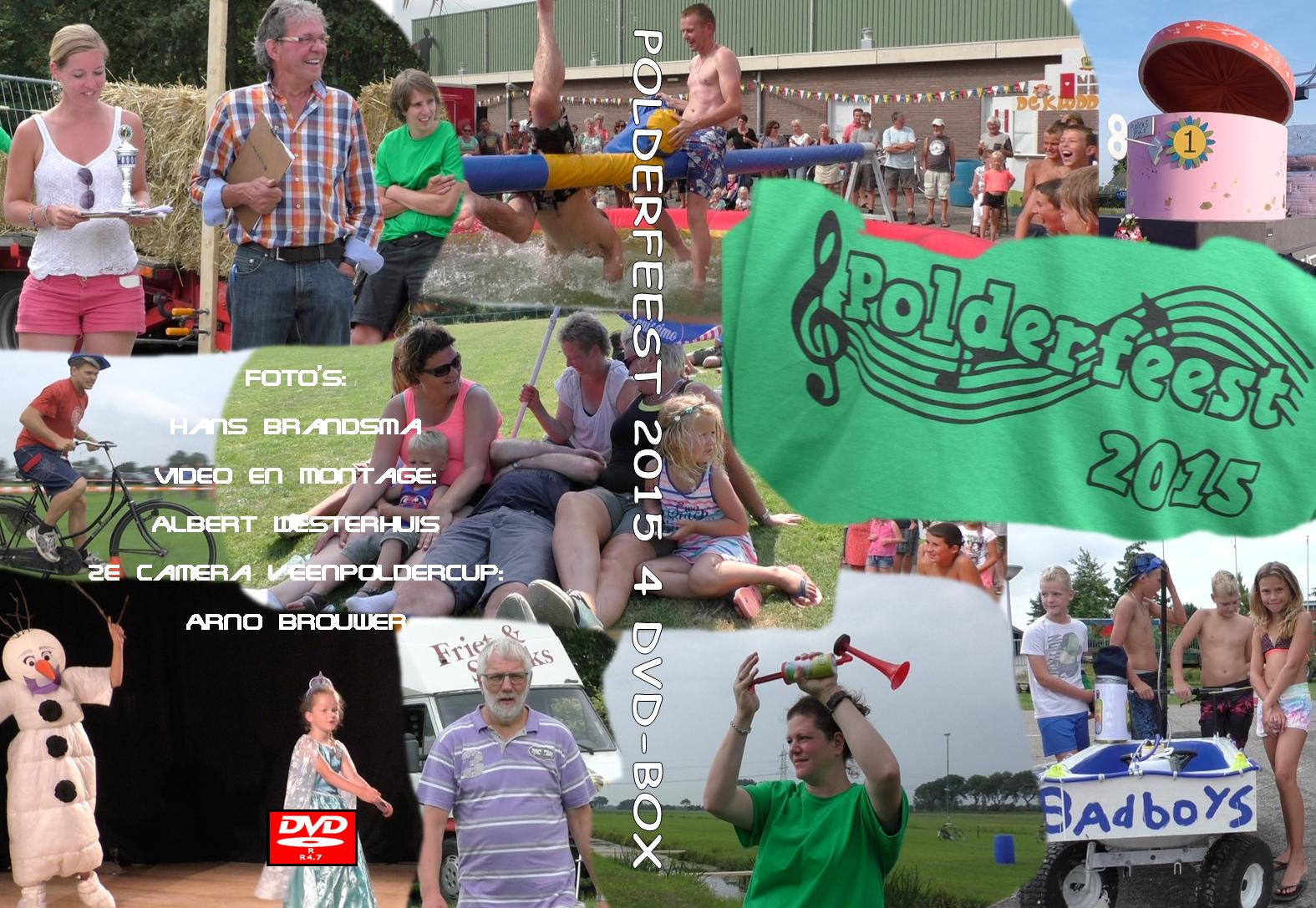 DVD Polderfeest 2015