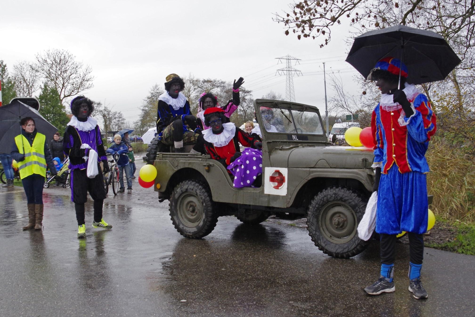 Intocht Sinterklaas Groote Veenpolder 2015