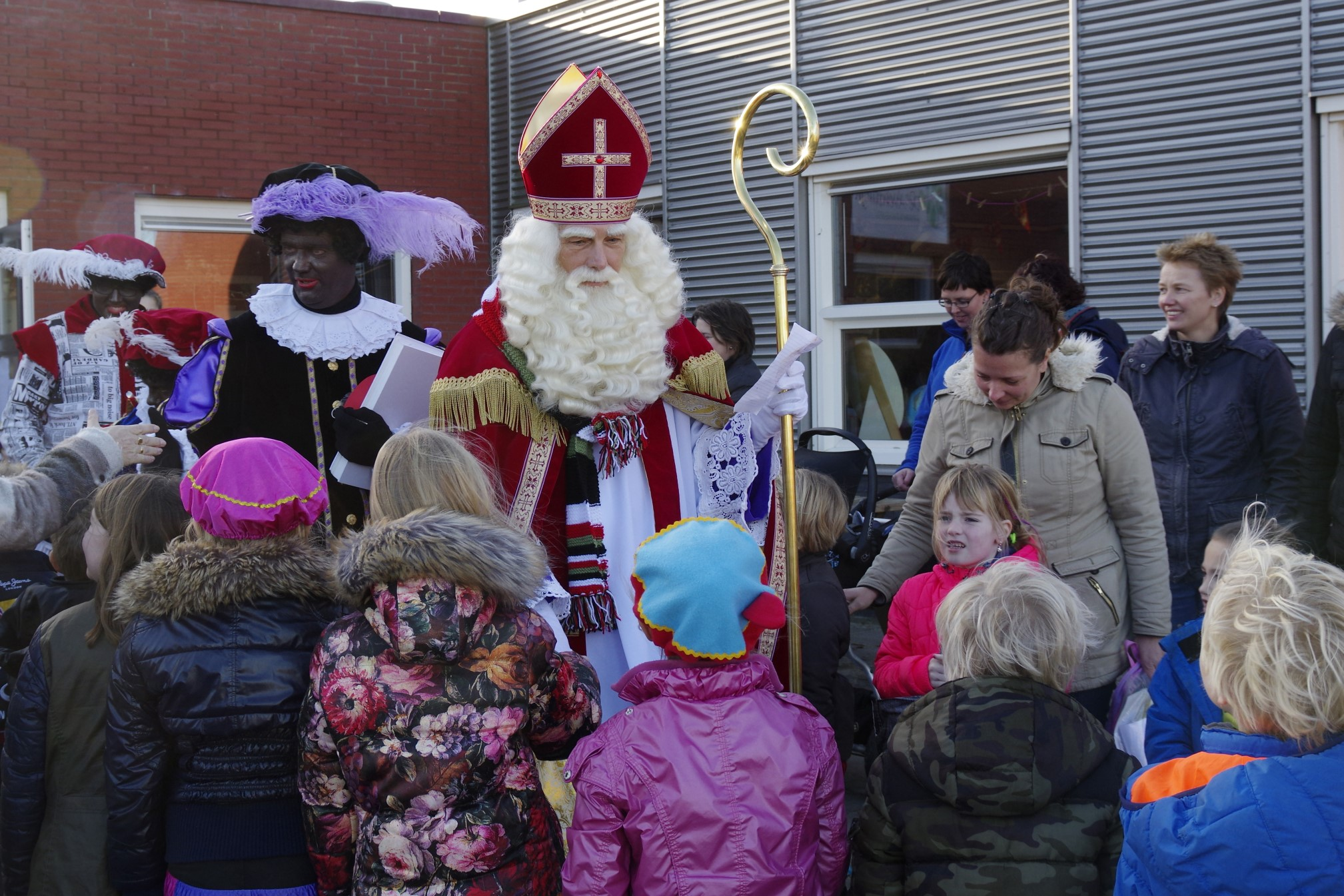 Sinterklaas op de Aventurijn