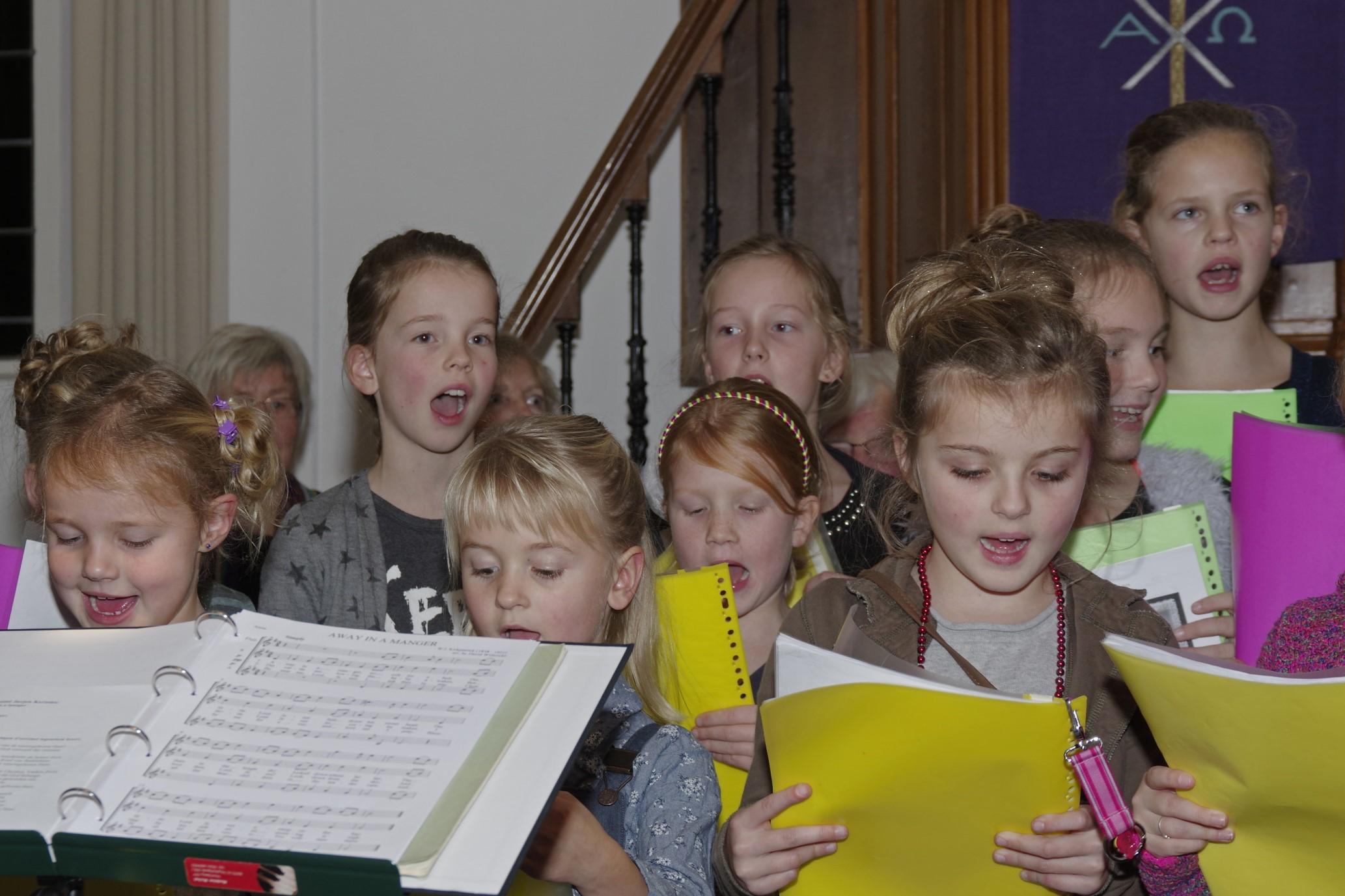 Kerstsamenzang PKN kerk Scherpenzeel 2015