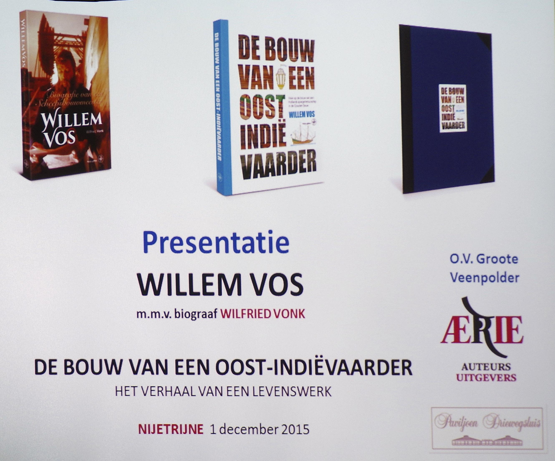 Lezing Willem Vos Batavia bouwer