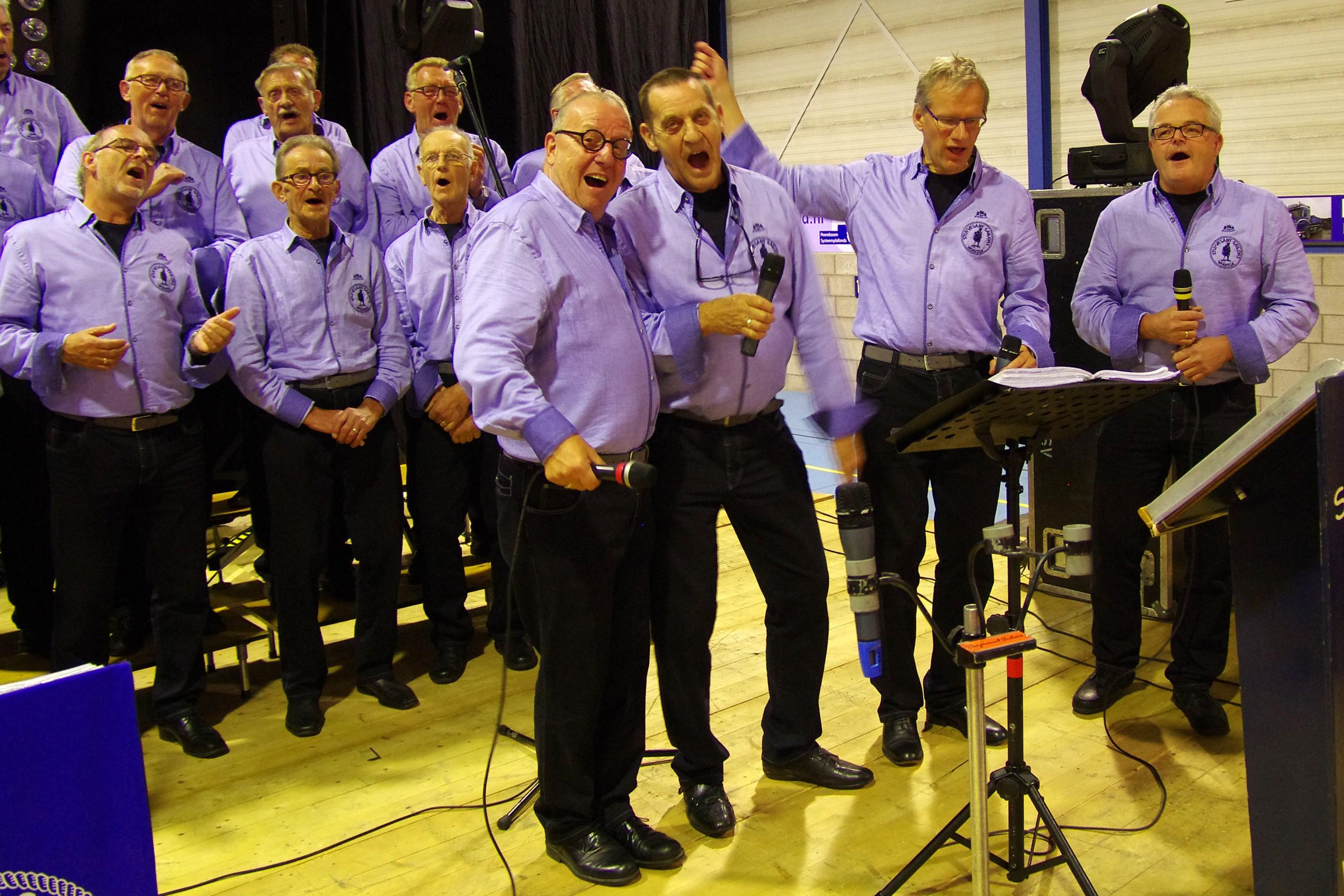 Stuyvesant Sailors in sporthal Munnekeburen