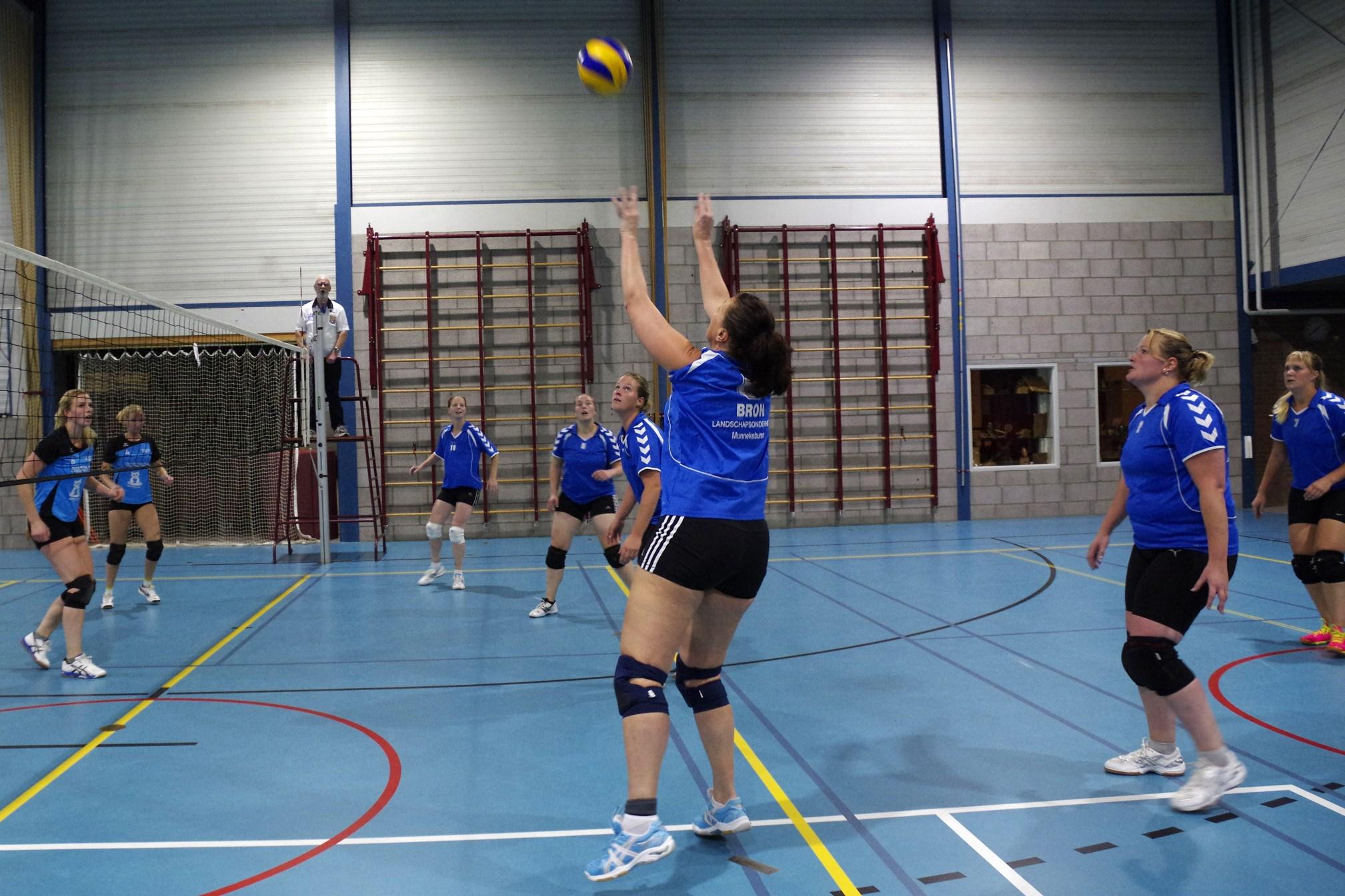 Ledverlichting en Volleybal Sparta