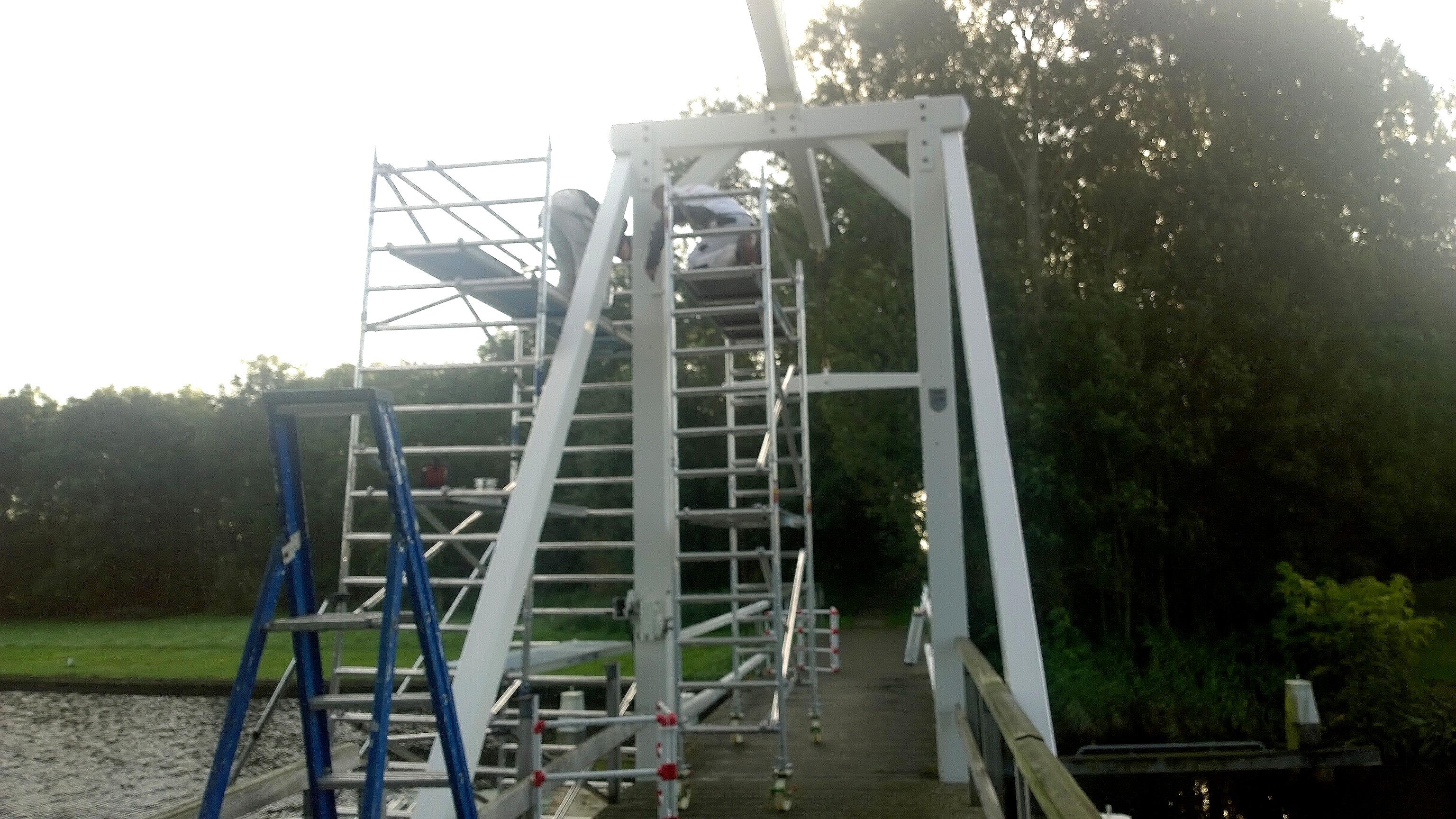 Ophaalbruggetje Driewegsluis