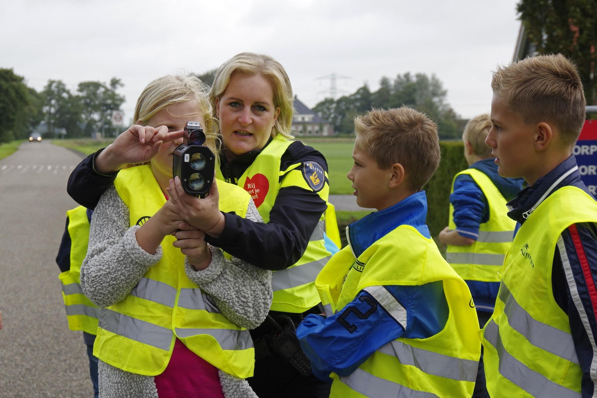Kinderen Aventurijn snelheidscontrole