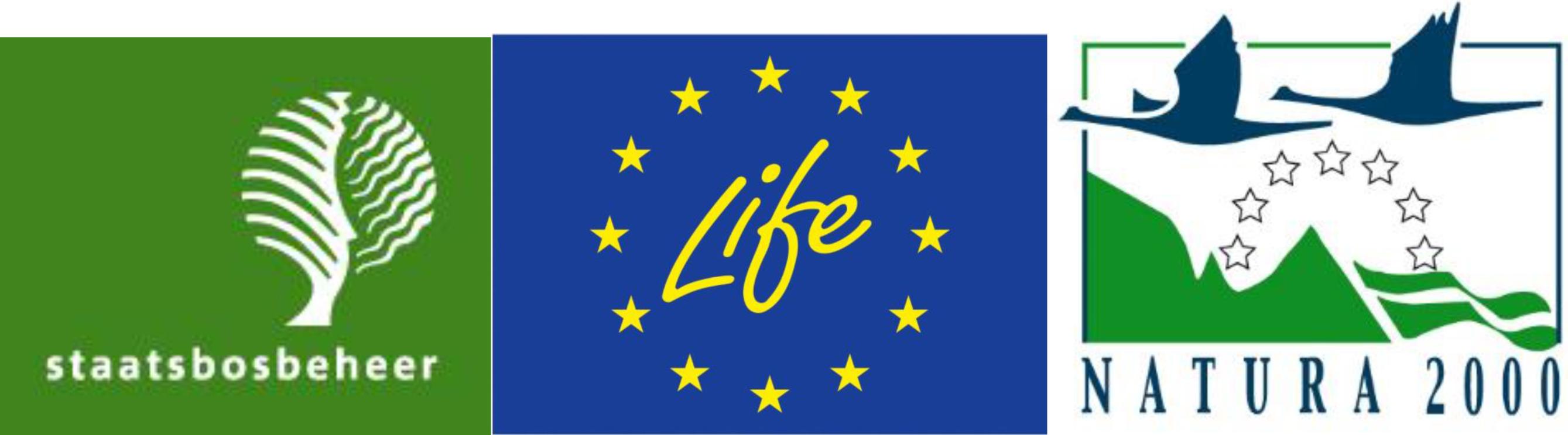 Logo's SBB, Live en Natura 2000