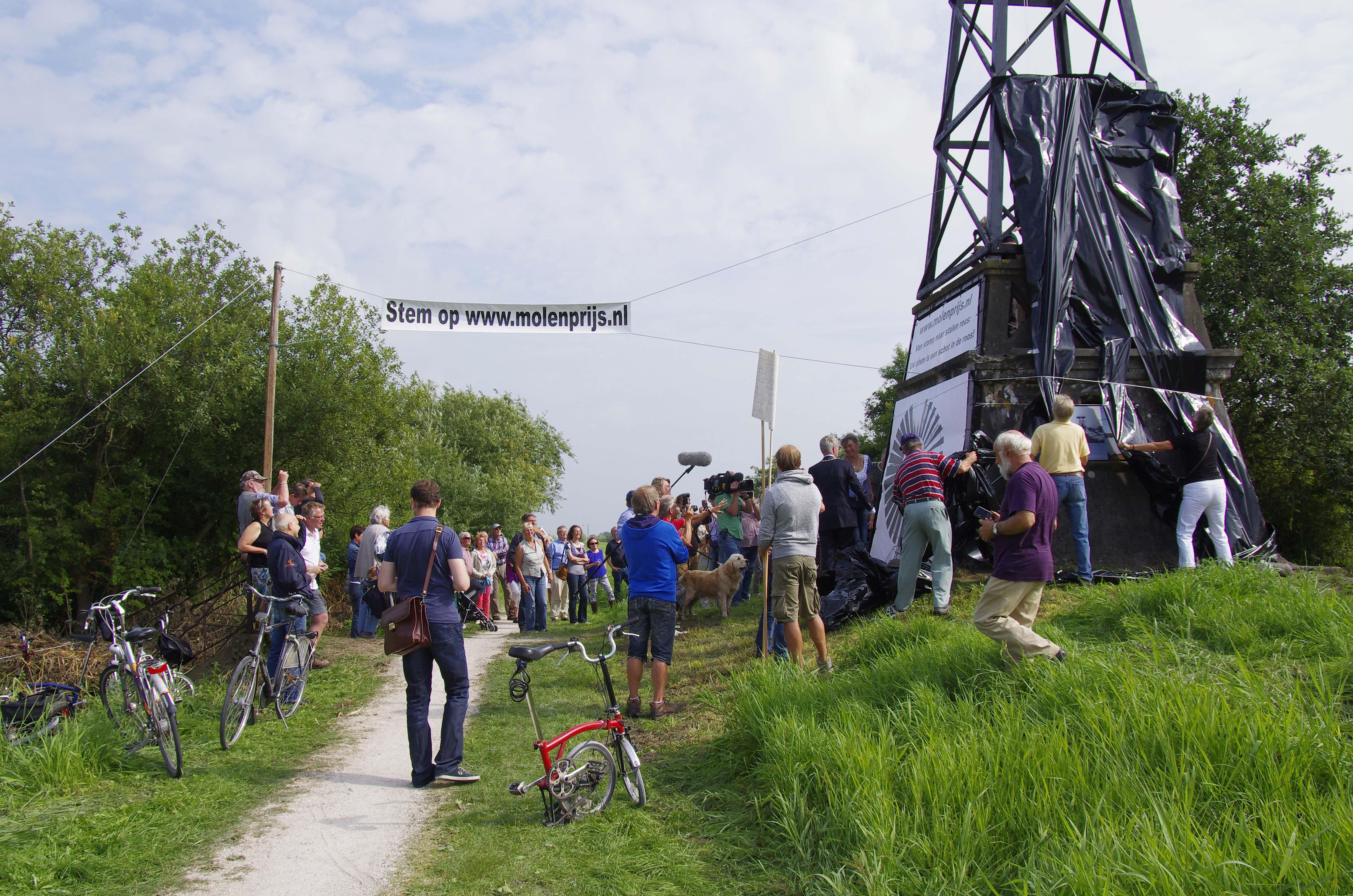 Restauratie windmolen Veendijk Munnekeburen
