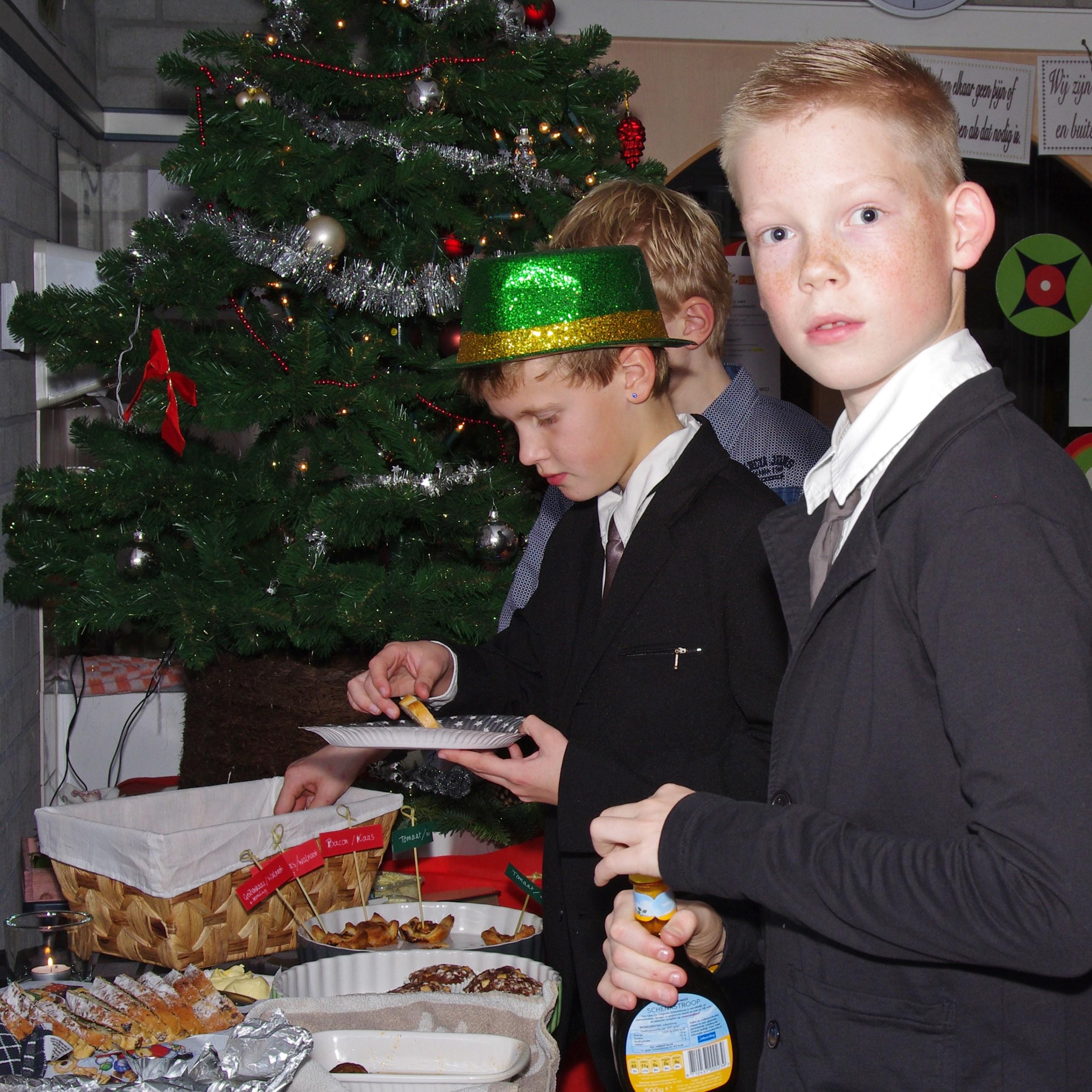 Kerstdiner op de Heidaschool