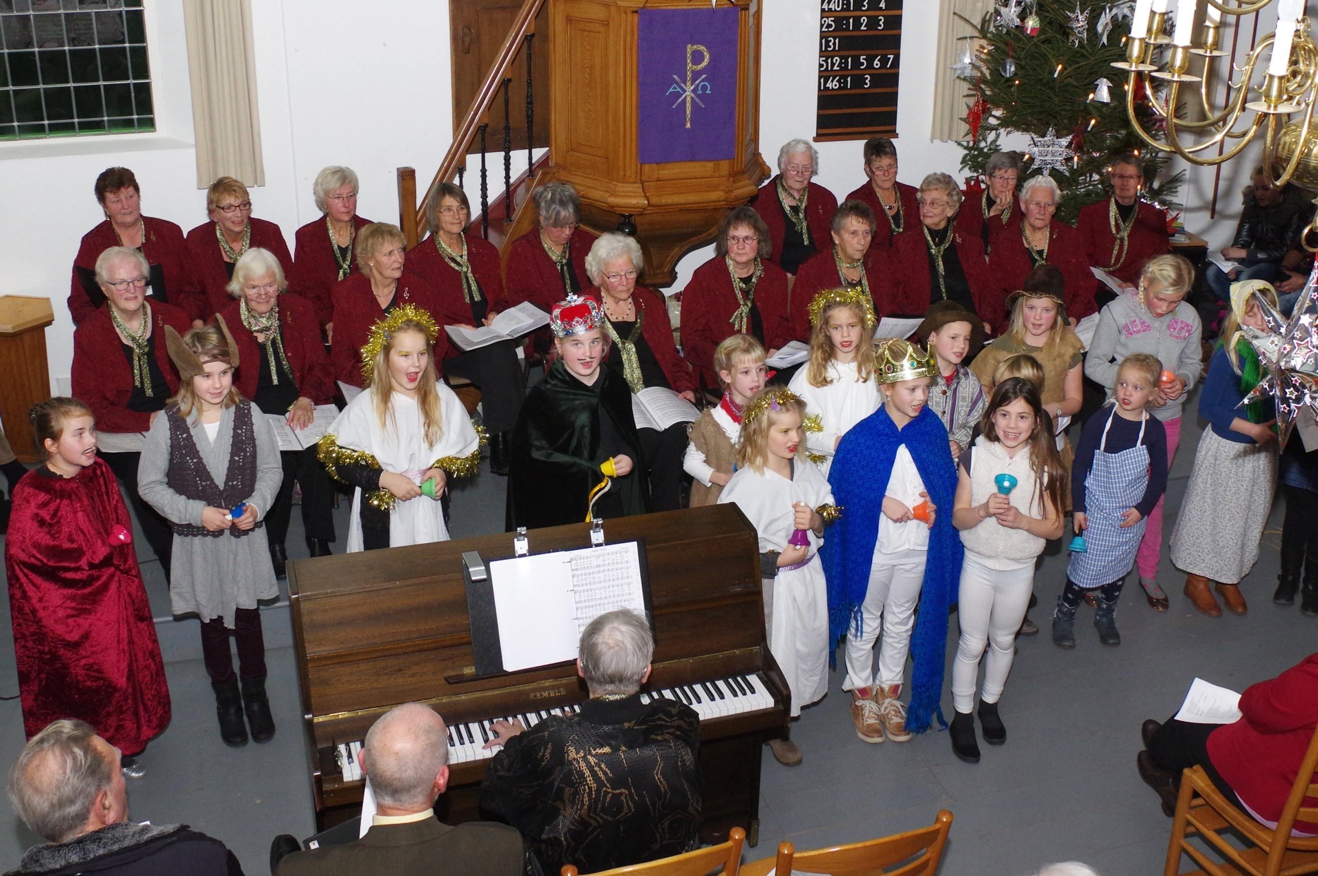Samenzang in PKN kerk 2013