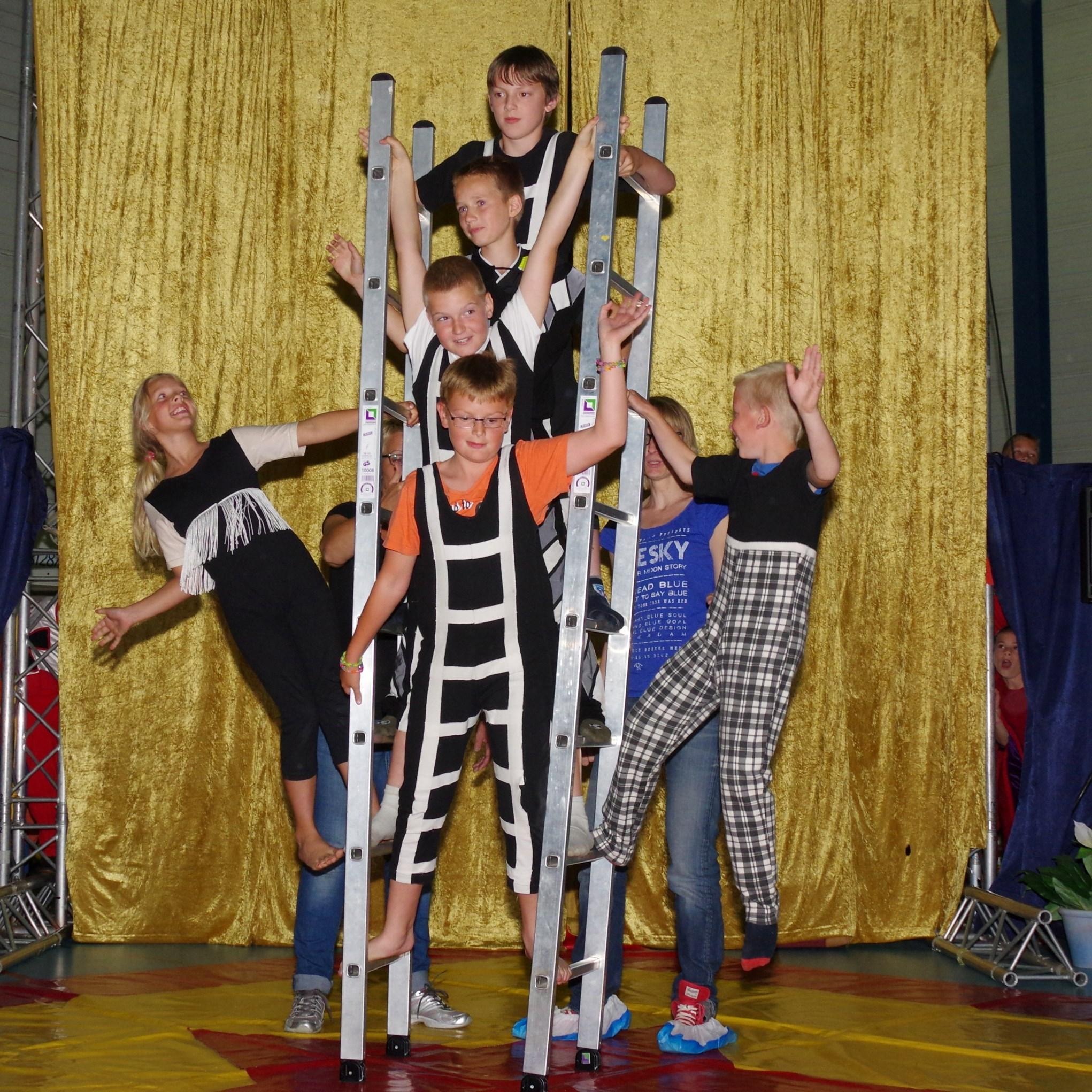 Circus op de Heidaschool